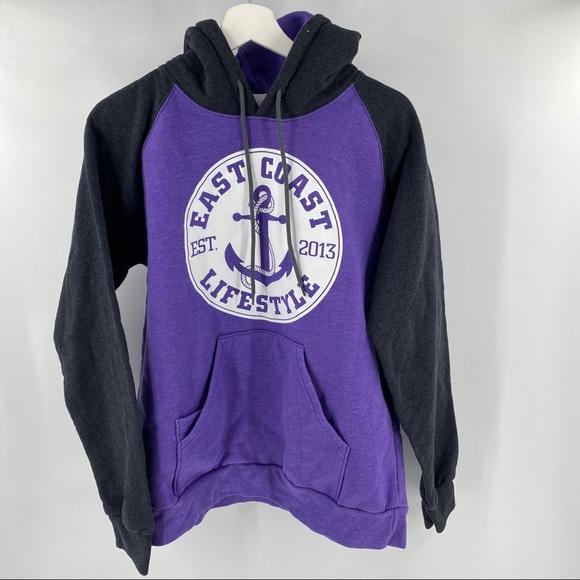 East Coast purple hoodie